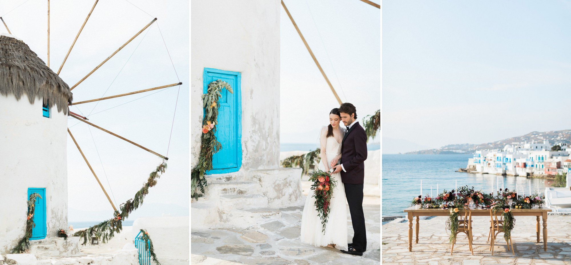 Mykonos destination weddings