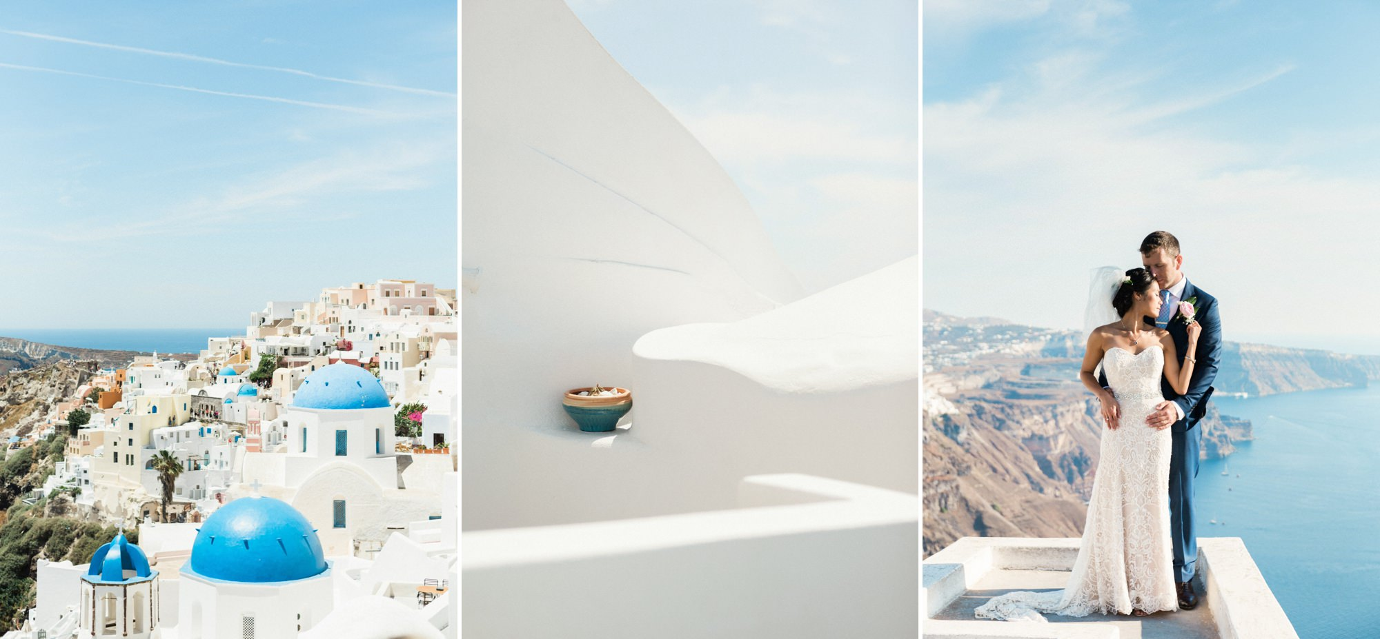 Santorini destination weddings